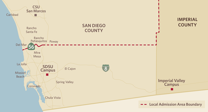 San Diego State University Admissions
