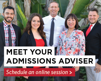 Schedule your online admissions advising session with your admissions advisor.
