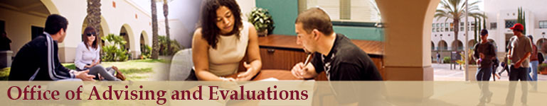 Office of Advising and Evaluations