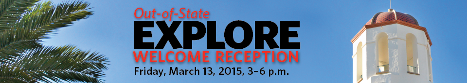 Explore SDSU Open House 2015 on Saturday, March 14, 2015