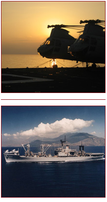ship and helicopter military photos