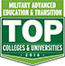 Military Advanced Education & Transition Top Colleges and Universities 2016