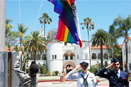 Military Raise LGBT Flag